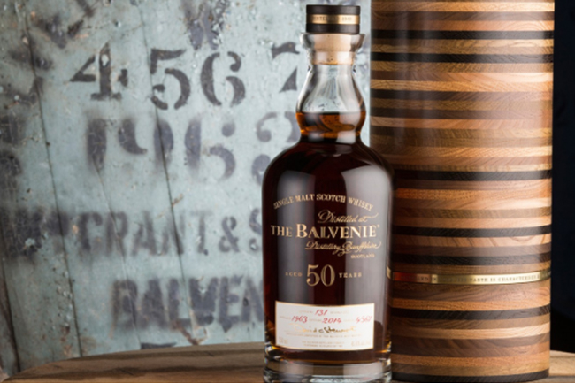 Balvenie 50 Year Old Scotch